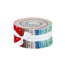 "Load image into Gallery viewer, Prim Fabric Strips 2.5"" 40pcs by Riley Blake"