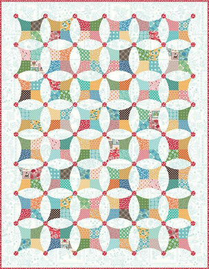 FLEA MARKET WINDOWS BOXED QUILT KIT by Riley Blake