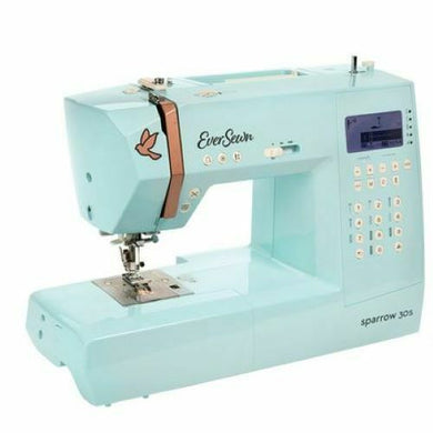 EVERSEWN SPARROW 30S 310 Stitch Computer Controlled Sewing Machine NIB Free Ship