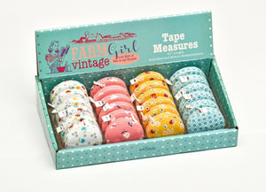 "Farm Vintage Girl Tape Measure 60"" Length by Lori Holt of Bee in my  Bonnet (1)"