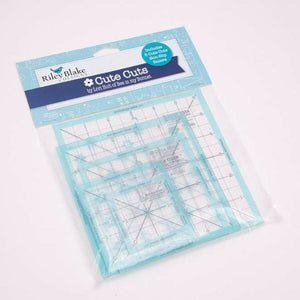 CUTE CUTS TRIM IT SQUARE RULERS 5 PACK by Lori Holt
