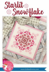 Starlit Snowflake Cross Stitch Pattern by It's Sew Emma