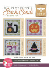 Load image into Gallery viewer, Stitch Cards by Lori Holt Set E, F G & H