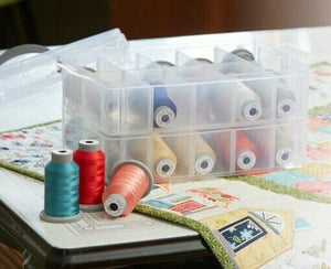 KIMBERBELL HOME THREAD COLLECTION INCLUDES CASE (20 mini threads)