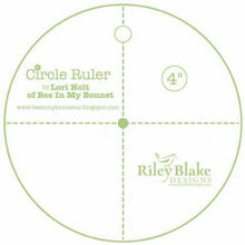 Load image into Gallery viewer, Circle Ruler Choose from 2 inch or 4 inch by Lori Holt