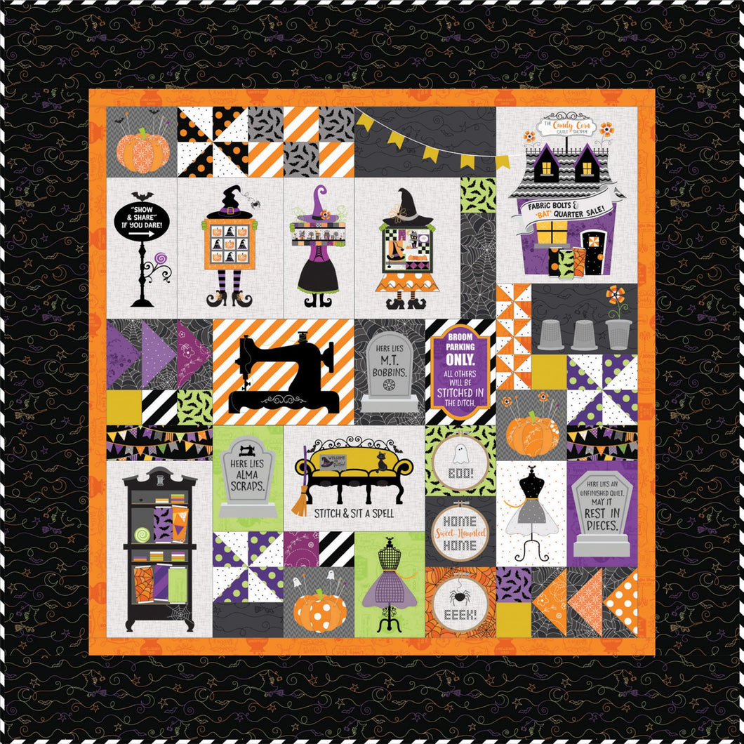 Candy Corn Quilt Full Kit by Kimberbell PRE ORDER