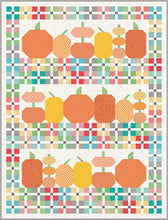 Load image into Gallery viewer, Pumpkins and Plaid Quilt Boxed Kit by Lori Holt