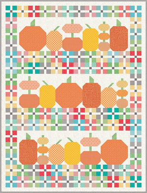 Pre Order Pumpkins and Plaid Quilt Boxed Kit by Lori Holt