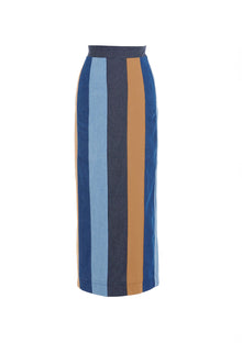 Patchwork Skirt - Jhoan Sebastian Grey