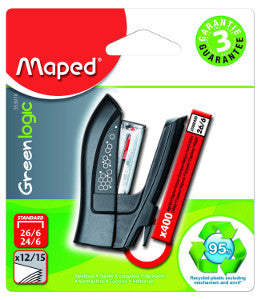 Mini Engrapadora Maped Green Logic