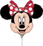 Globo Metálico Mini Shape Strt Minnie Mouse