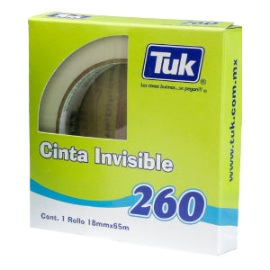 Cinta Invisible Tuk 260 18mm x 65m
