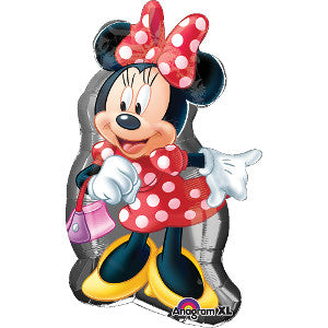 Globo Metálico Super SHP Minnie Full Body