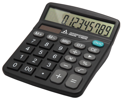Calculadora Delta Escritorio 12 Digitos 7806CDE