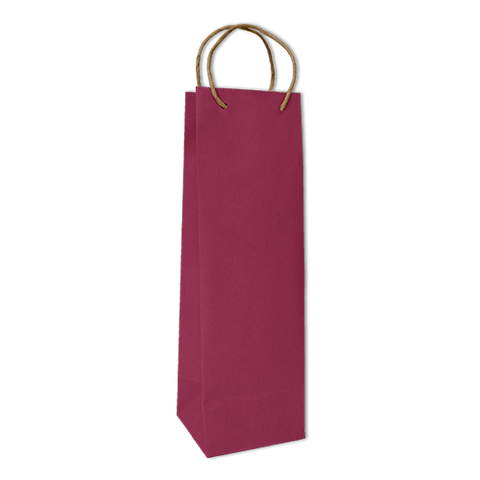Bolsa Kraft Lisa Botella Color Magenta