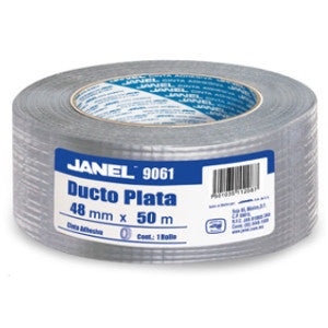 Cinta Janel Ducto Plata 48X50