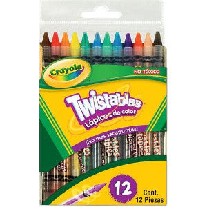 Color Crayola Twistables C/12