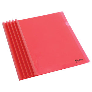 Folder Costilla Acme Carta C/12 Rojo