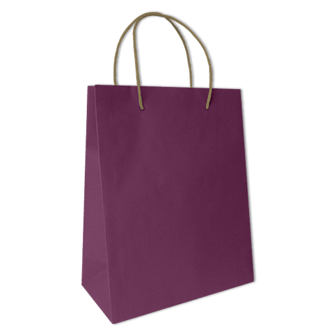 Bolsa Kraft Lisa Grande Color Morada