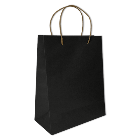 Bolsa Kraft Lisa Grande Color Negra