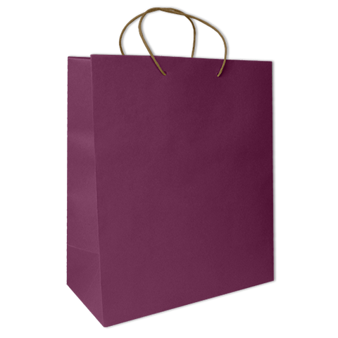 Bolsa Kraft Lisa Jumbo Color Morada
