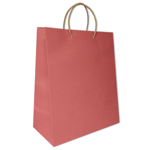 Bolsa Kraft Lisa Jumbo Color Rosa