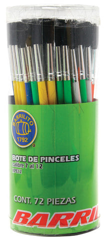 Pincel Barrillito  7-12 C/72 KPE12