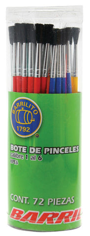 Pincel Barrillito  1-6 C/72 KPE6