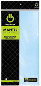 Mantel Party Is On Rectangular Azul Cielo
