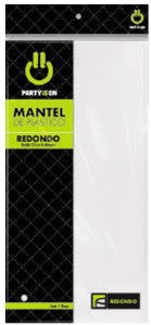 Mantel Party Is On Rectangular 1 Pza Blanca