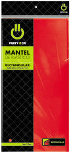 Mantel Party Is On Rectangular Rojo