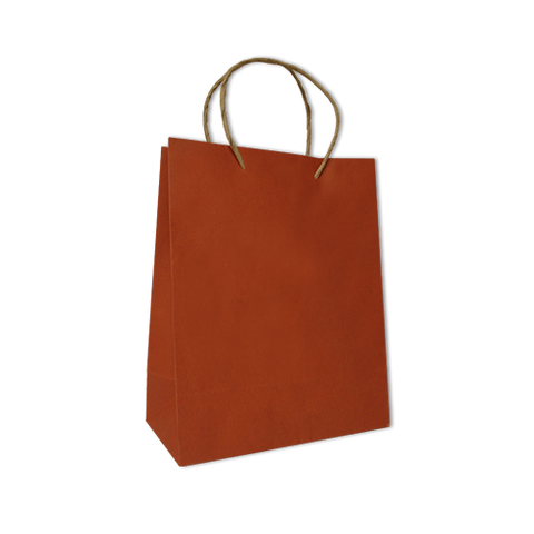 Bolsa Kraft Lisa Mediana Color Naranja