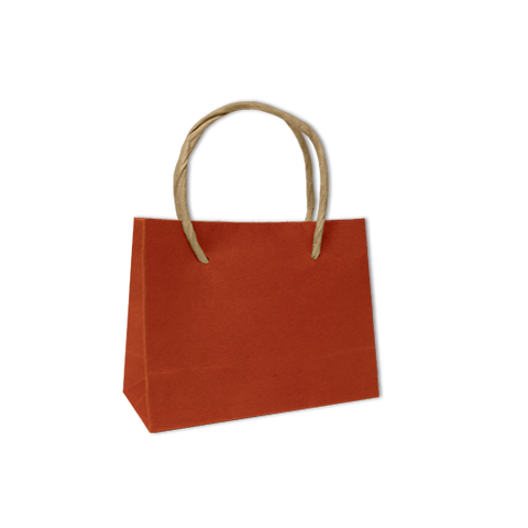 Bolsa Kraft Lisa Mini Color Naranja