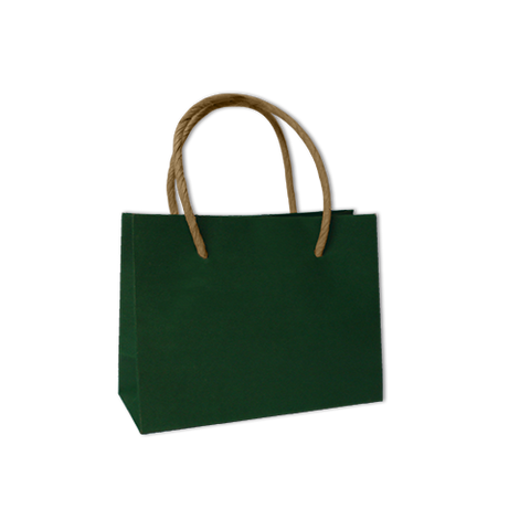 Bolsa Kraft Lisa Mini Color Verde Bosque