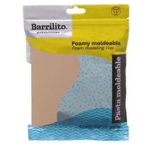 Foamy Moldeable Barrilito 50Grs. Camello