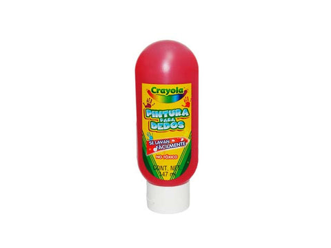 Pintura Digital Crayola 147ml Rojo