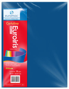 Cartulina Reflect 50x65 178 gr. Azul C/10