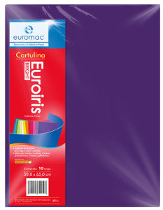 Cartulina Reflect 50x65 178 gr. Morado C/10