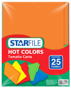 Folder Starfile Carta Arcoiris C/25