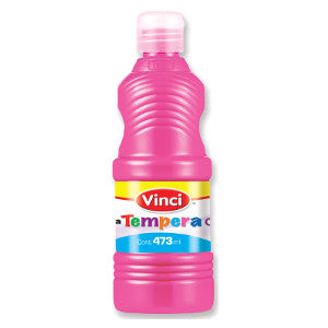 Pintura Tempera Vinci 473ml Rosa Mexicano