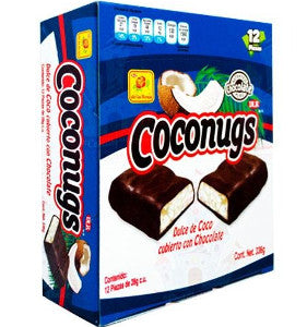 Chocolate Coconugs 28 Grs C/12