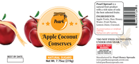 Apple Coconut Conserves - Pearl-HONEY SPREADS