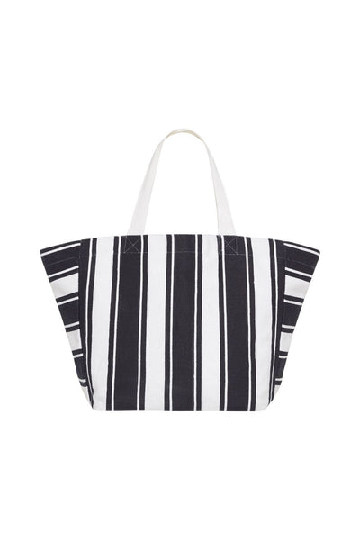 Carried Away Canvas Stripe Tote BAGS SEAFOLLY OS Indigo