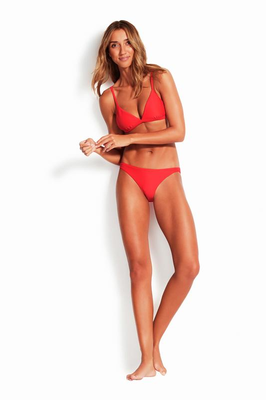 Essentials Fixed Tri Bra SWIM TOP SEAFOLLY