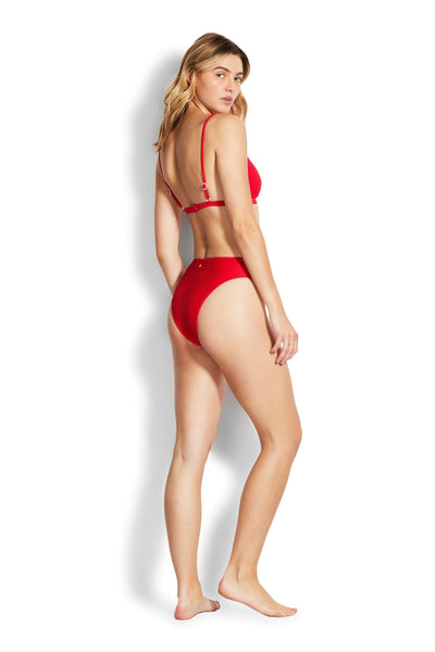 Essentials High Waisted Pant SWIM PANT SEAFOLLY
