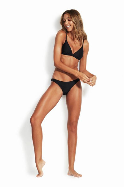 Essentials Hipster SWIM PANT SEAFOLLY 8 BLACK