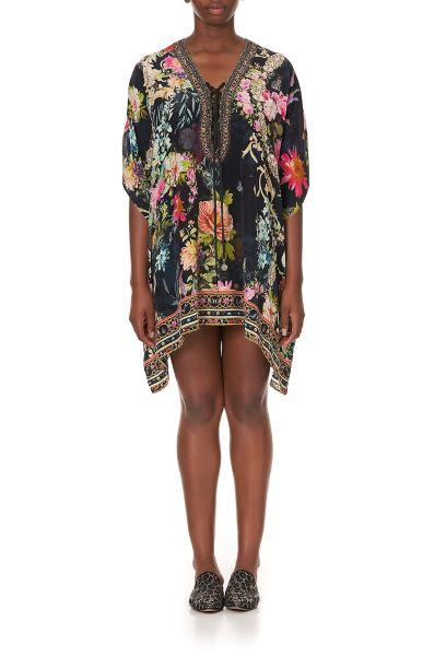 Hampton Hive Short Lace Up Kaftan KAFTAN CAMILLA OS Multi