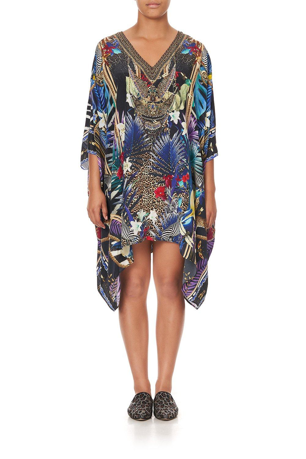 Rainbow Room Kaftan with Button Up Sleeves KAFTAN CAMILLA