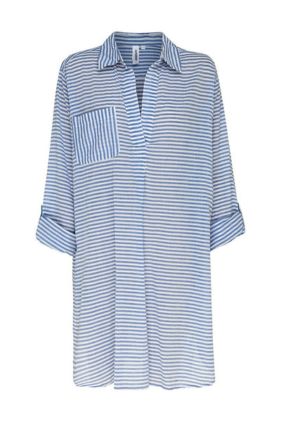 Resort Painters Shirt Stripe OVERSWIM SUNSEEKER