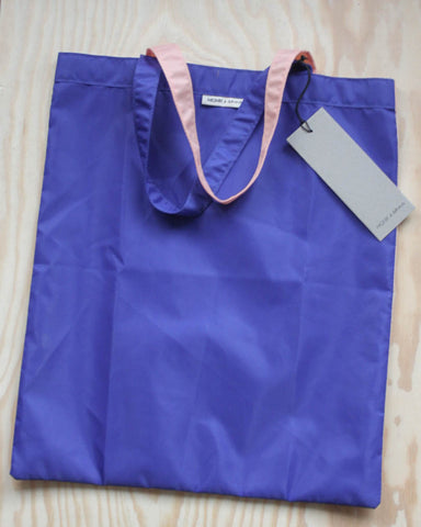 Anna Shopper in Blue & Pink